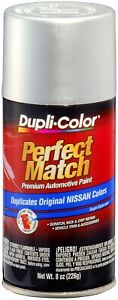 Duplicolor Brilliant Silver For Nissan Touch Up Paint Code K23 8 Oz
