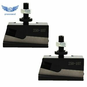 2pcs Axa 7 250 107 Universal Parting Blade Holder Cnc Lathe Quick Change New