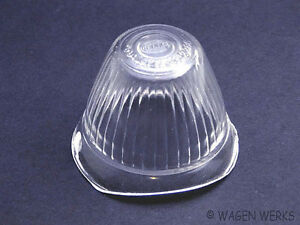 Vw Bug Turn Signal Lens 1955 To 1957 Clear Hella