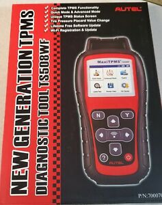 Autel Maxitpms Ts508wf Scanner Code Reader Only
