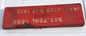 Vintage Unknown Snap On Tool Box
