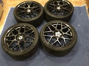 Lightely Used 19 Hre Ff01 Wheels Tires From C63 W204