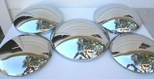 5 Vintage Baby Moon Hubcaps Wheel Covers 3 10 1 2 2 8 5 8 Great Shape