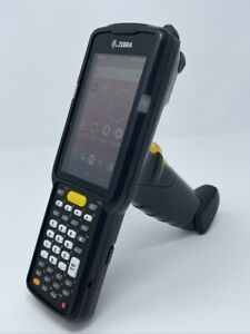 Mint Zebra Mc3300 Mc330k gi3ha3us Mobile Computer Barcode Scanner W Battery
