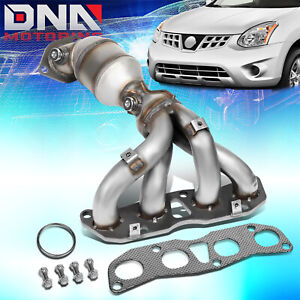 For 2008 2015 Nissan Rogue Select X trail Exhaust Manifold Catalytic Converter