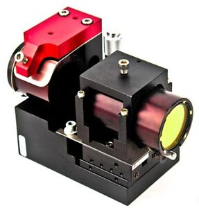Laser Lab Optical Filter Assembly W optosigma Precision Single Axis Stage 2
