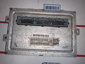 56040201ad Dodge Ram 4 7l At Engine Computer Module Ecm Ecu 2002