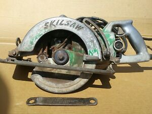 Skilsaw Worm Drive Circular Saw 7 1 4 Model 77 12 Amps Excellent Condition