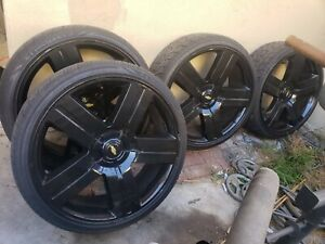 26 Rims And Tires Like New Chevy Silverado Texas Edition Rims