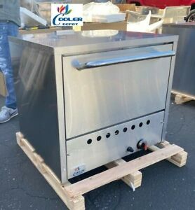 32 Commercial Stone Base Pizza Oven Bakery Pizzeria Cooker Wings Nsf Ss Nat Gas