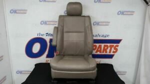 2005 06 Toyota Tundra Limited Driver Left Front Seat Tan Leather Power Heat