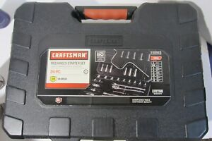 Craftsman Sae 34 Piece 3 8 Inch Drive Ratchet And Socket Set W Carrying Case