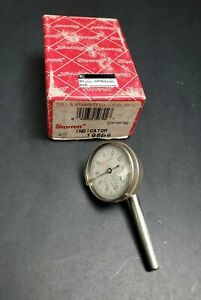 Starrett No 196 Back Plunger Dial Test Indicator 0 001 Machinist Wide Point