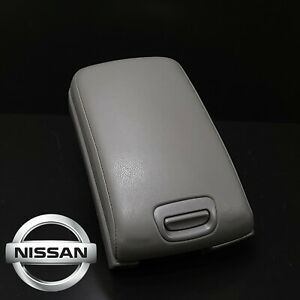 Nissan Maxima Gray Center Console Lid Armrest Hinge Arm Rest 2000 2003