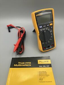 Fluke 117 Digital Multimeter With Intergrated Voltage Detection New Open Box