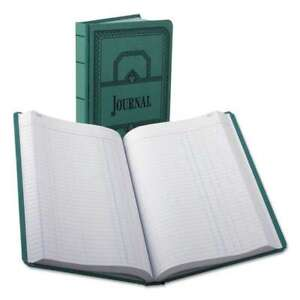 Boorum Pease Record account Book Journal Rule Blue 500 Page 072156664252