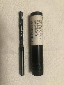 Guhring 05511 4 760mm 3 16 R rt1 K p 10993214 Solid Carbide Drill New Germany