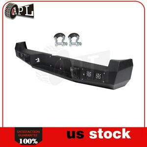 Rear Step Bumper Assembly W Led Lights D ring Shackles For Toyota Tacoma 05 15