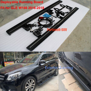 Deployable Electric Running Board Side Steps Fit For Mercedes Gle W166 2016 2018