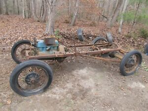 Ford Model T Chassis And Drivetrain