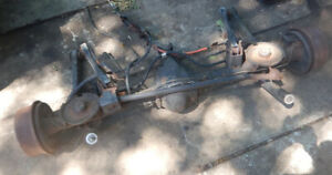 Jeep Tj Wrangler Dana 44 Rear Axle With 3 73 Gears 1997 2006