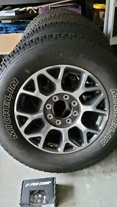 Oem Wheels And Tires Off 2020 F250 Michelin 275 65r20