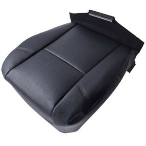 Black Driver Side Bottom Leather Seat Cover For Cadillac Escalade Esv 2007 2014