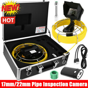 20 50m 4 3 Lcd Video Monitor Drain Pipe Sewer Inspection Camera Tube Endoscope