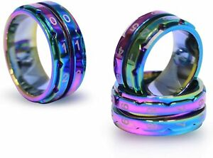 Knitter s Pride Rainbow Row Counter Rings Assorted Sizes