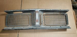 1969 Dodge Charger Grille Center Front Section Oem Restorable R T Easy Fix 69