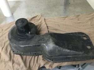Corvette Mid Year Outside Heater Box Dated 11 65