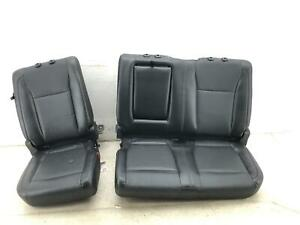 2015 2020 Ford F150 Rear Bench Seat Black Leather Crew Cab Oem 2016 2017 2018