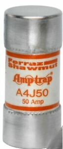 Mersen A4j50 50amp 50a A4j 600v Fast acting Class J Pack Of 1 Fuses