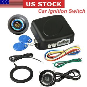 Universal Car Keyless Entry Engine Start Stop Push Button Lock Ignition Switch