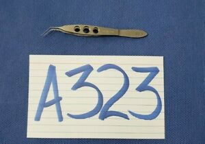 Katena Kt5 1500 Ophthalmic Mcpherson Tying Forceps Angle Tip Surgical Instrument