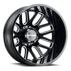 Mayhem Cogent 22 Dually Wheels Chevy Dodge Ram Gmc 3500 Ford F350 F450