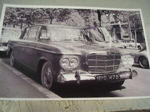 1962 Studebaker Lark Regal With Lowey 11 X 17 Photo Picture