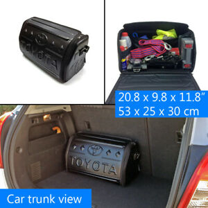 For Toyota Car Trunk Cargo Travel Foldable Storage Organizer Bag Box