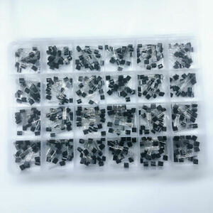 480 Pcs 24 Types Transistor To 92 Assortment Kit 20 Each Assorted With Box