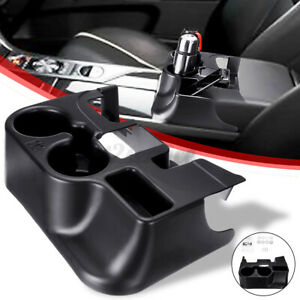 Black Center Console Cup Holder Storage Tray For Dodge Ram 1500 2500 3500 03 12