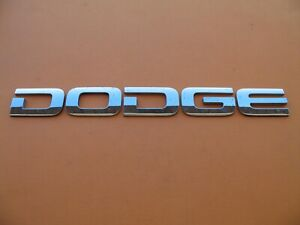 02 03 04 05 06 07 08 Dodge Ram 1500 2500 3500 Rear Emblem Logo Badge Sign A13904
