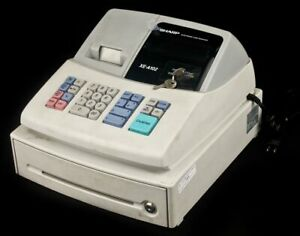 Sharp Xe a102 Pos Point of sale Electronic Cash Register Drawer As is
