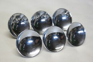Original 1950 S Car Truck Custom Grille Moulding Trim Round Knob Inserts Lot 6