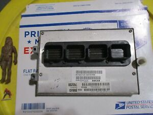 06 Grand Cherokee Ecm Engine Control Module Computer Pcm Ecu Power Unit Brain