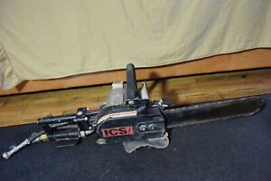Ics Model 701 Pneumatic Concrete Chainsaw With 15 Bar And Chain