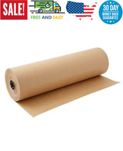 Kraft Paper Roll 30 X 1800 Inch Brown Craft Paper Table Cover Packing