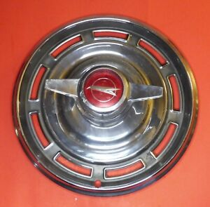 1966 Buick Special Hub Cap With Spinner Couple Of Scrapes