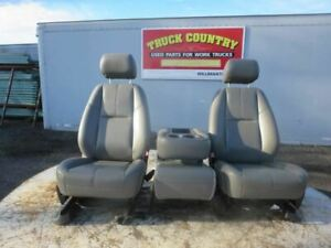 Driver Front Seat Bucket bench Manual Fits 11 14 Sierra 2500 Pickup 183591