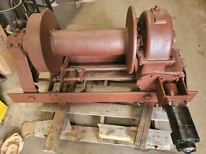 Garwood 60 000 Pound Hydraulic Winch 30 Ton Heavy Duty Truck Heavy Duty