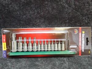 80725 Gearwrench 13 Pc Tamper Proof Torx Bit Socket Set